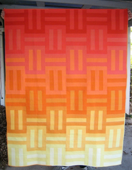 Sunset - Corinne Sovey of Must Love Quilts