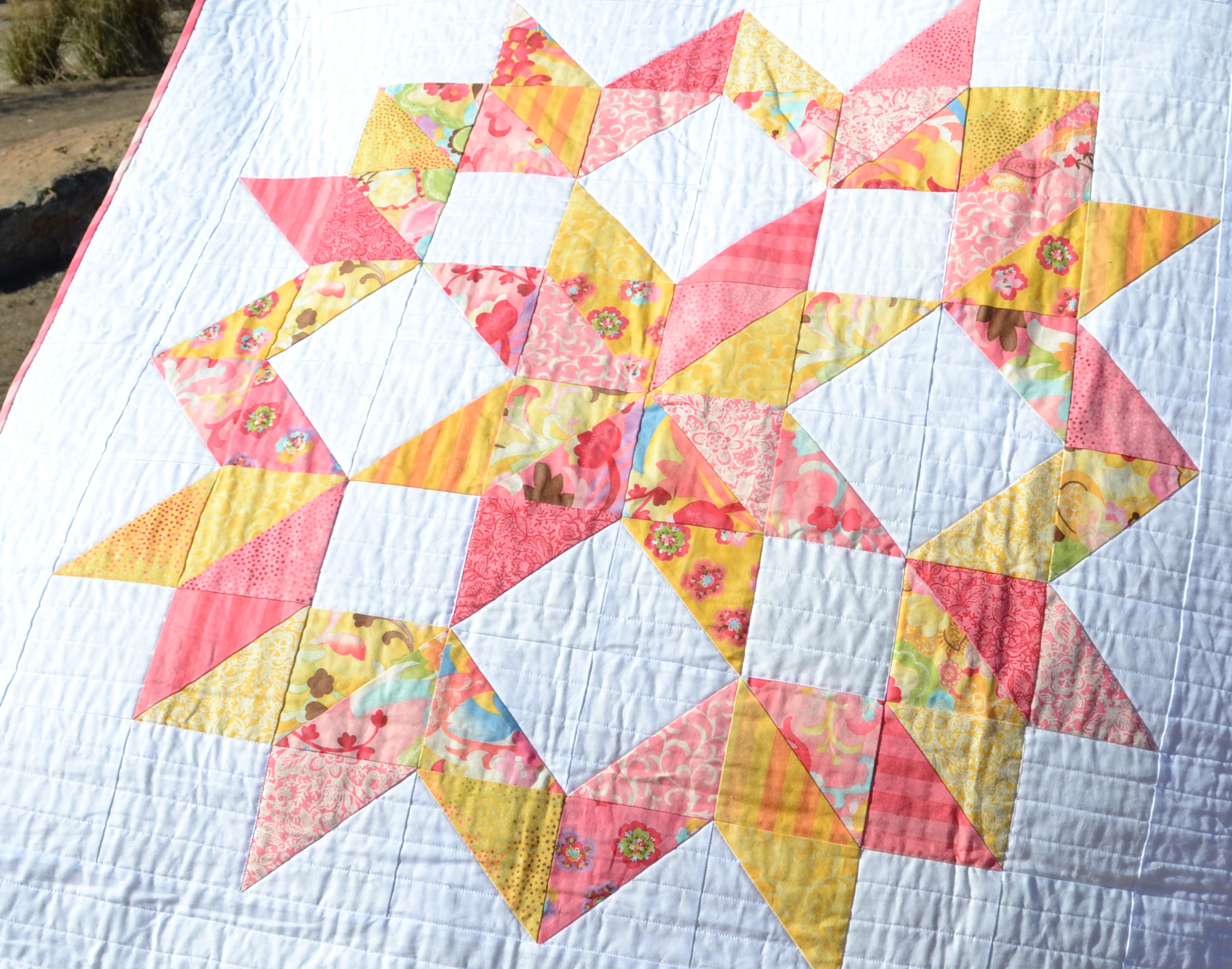 Quilted Christmas Fabric