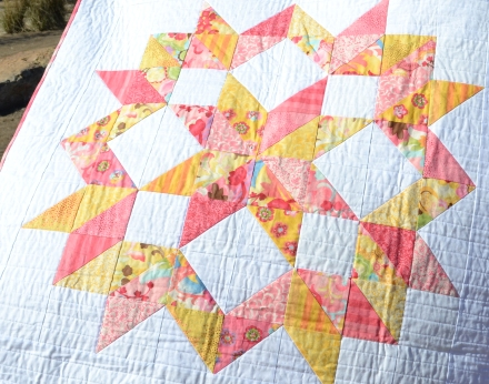 Must Love Quilts | Strawberry Lemonade