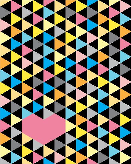 Heart Quilt | Must Love Quilts