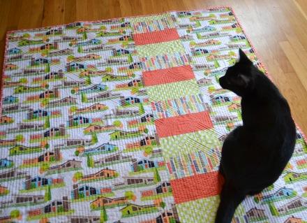 Modern Trellis Back - Must Love Quilts