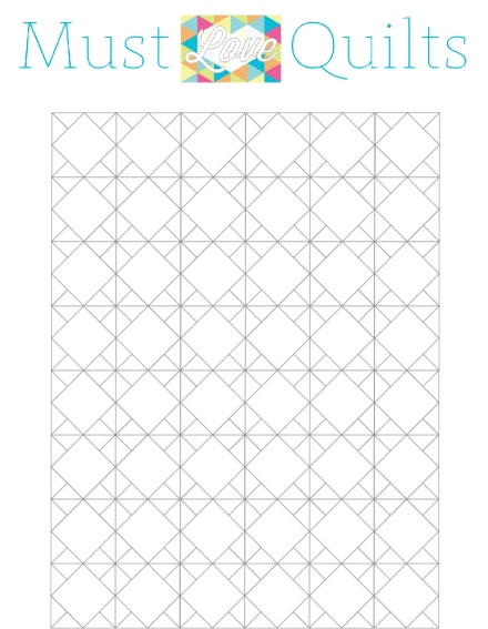 Grand Granny Coloring Sheet - Must Love Quilts