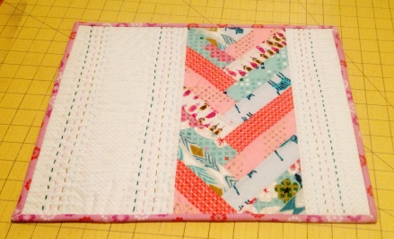 Dream Stitch Designs Placemat