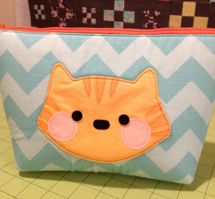 Cat Pouch | Must Love Quilts