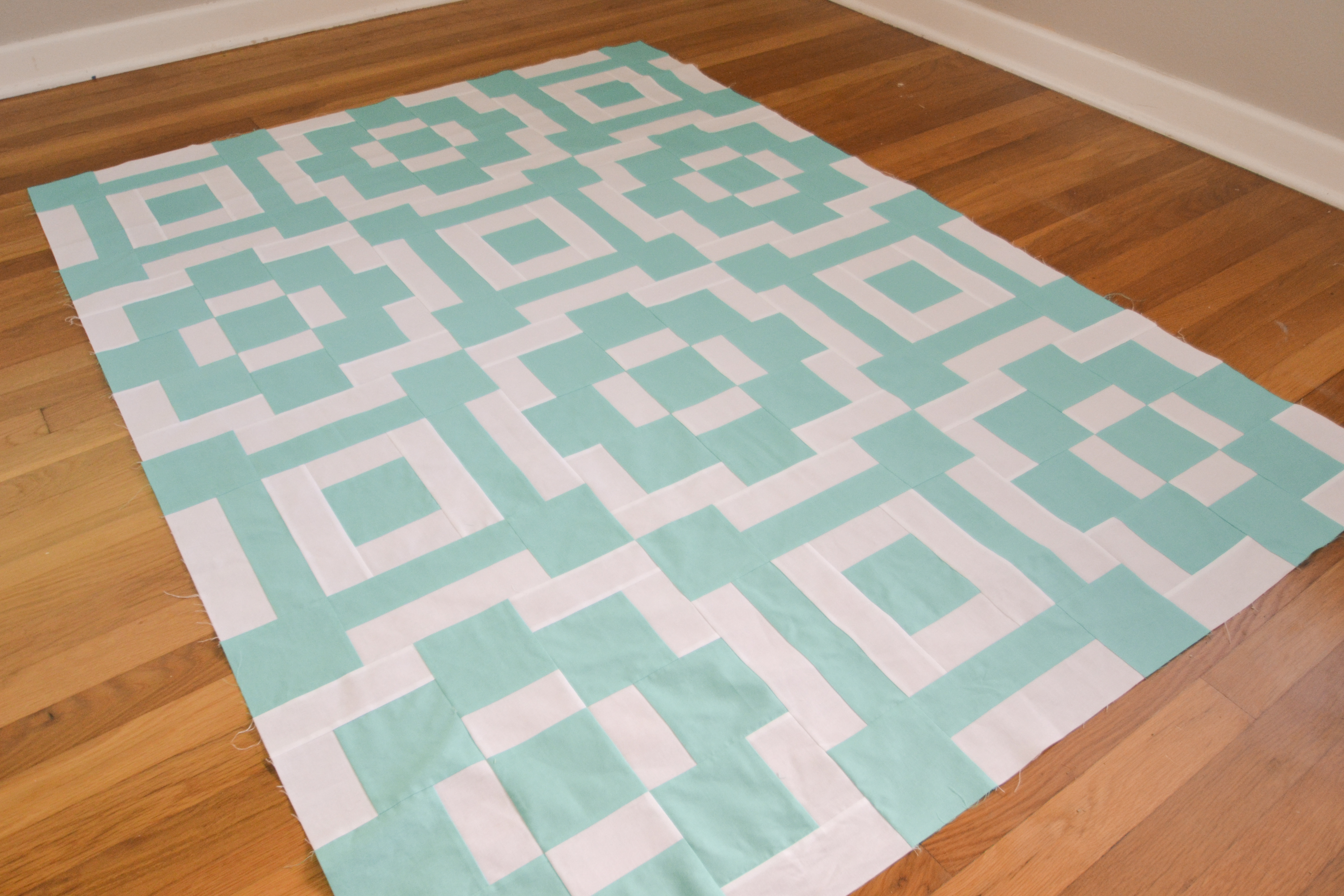 Attention deficit quilter mustlovequilts for Floor quilt for babies
