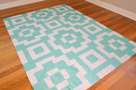 Must Love Quilts - Baby Floor Tile Quilt