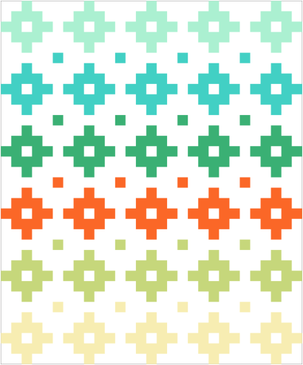 Tropical Punch | Must Love Quilts
