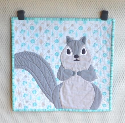 Norito Shinmura Fiber Squirrel | Must Love Quilts