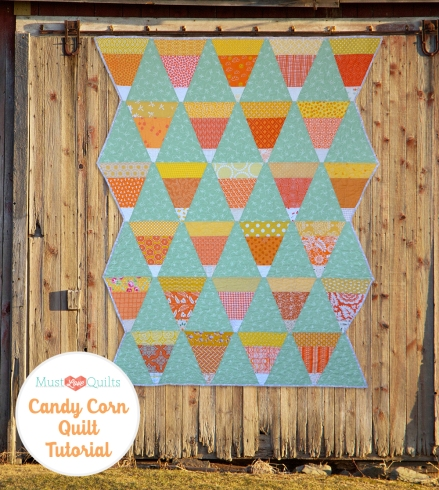 Candy Corn Tutorial | Must Love Quilts